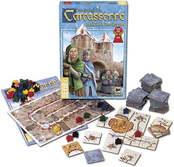 Devir - Carcassonne edición Invierno, Juego de Mesa (BGCARI ...