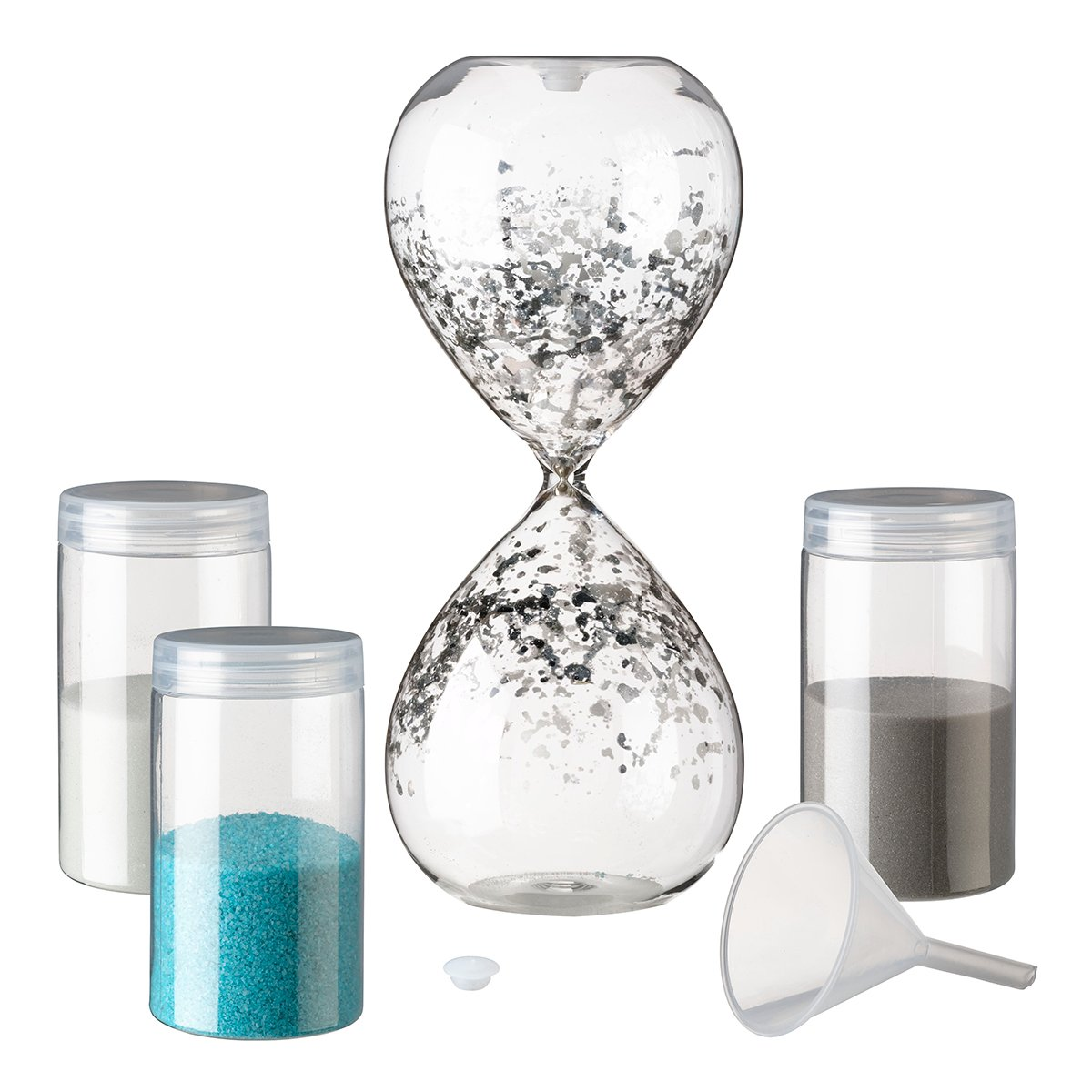 Lillian Rose us120 Einheit Sand Stunde Glas, 21 x 8,3 cm klar ...