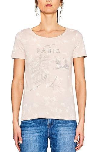 ESPRIT 067ee1k051, Camiseta para Mujer