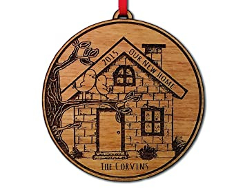 Amazoncom Our NEW Home 2015 2014 or Any Year Christmas Ornament