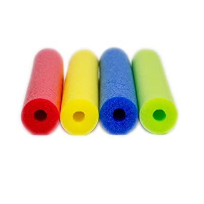 """Fix Find 52 Inch Colorful Swim Pool Noodle 4 Pack in Bright Jewel Tone Multicolors 52"""": Toys & Games"""
