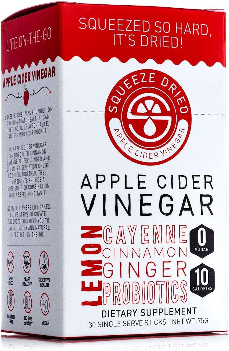 Squeeze Dried Apple Cider Vinegar