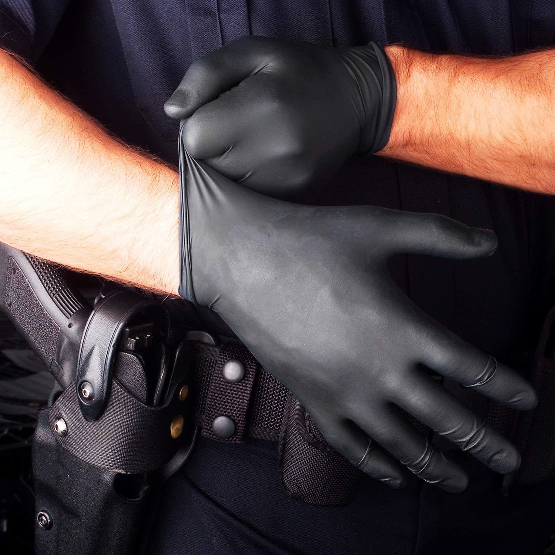 9-10 200x Guantes Desechables Verde Safe Fit Trabajo Ligero Guantes de nitrilo XL Sin polvo Sin Latex Grado M/édico AQL 1,5 Limpieza Jardiner/ía Tatuando Pintura /…