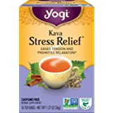 Yogi Tea - Kava Stress Relief (6 Pack) - Eases Tension and Promotes Relaxation - 96 Tea Bags