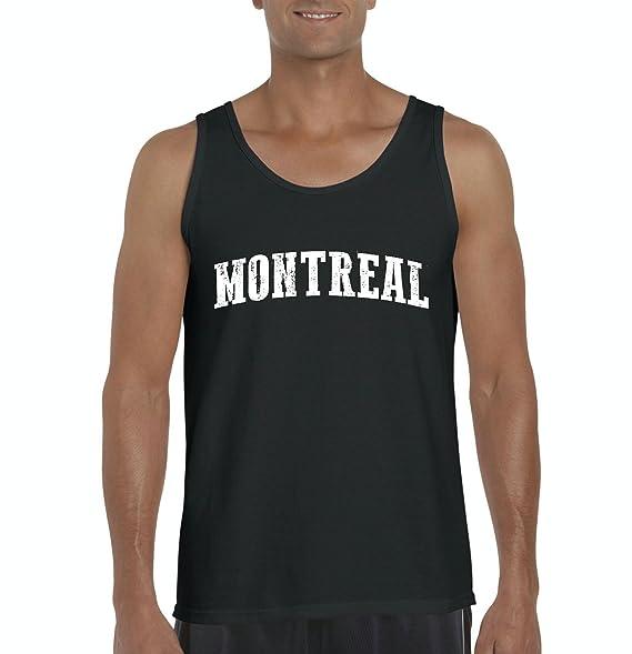 NIB Canada Tank Top Montreal Quebec Mens Tank Top