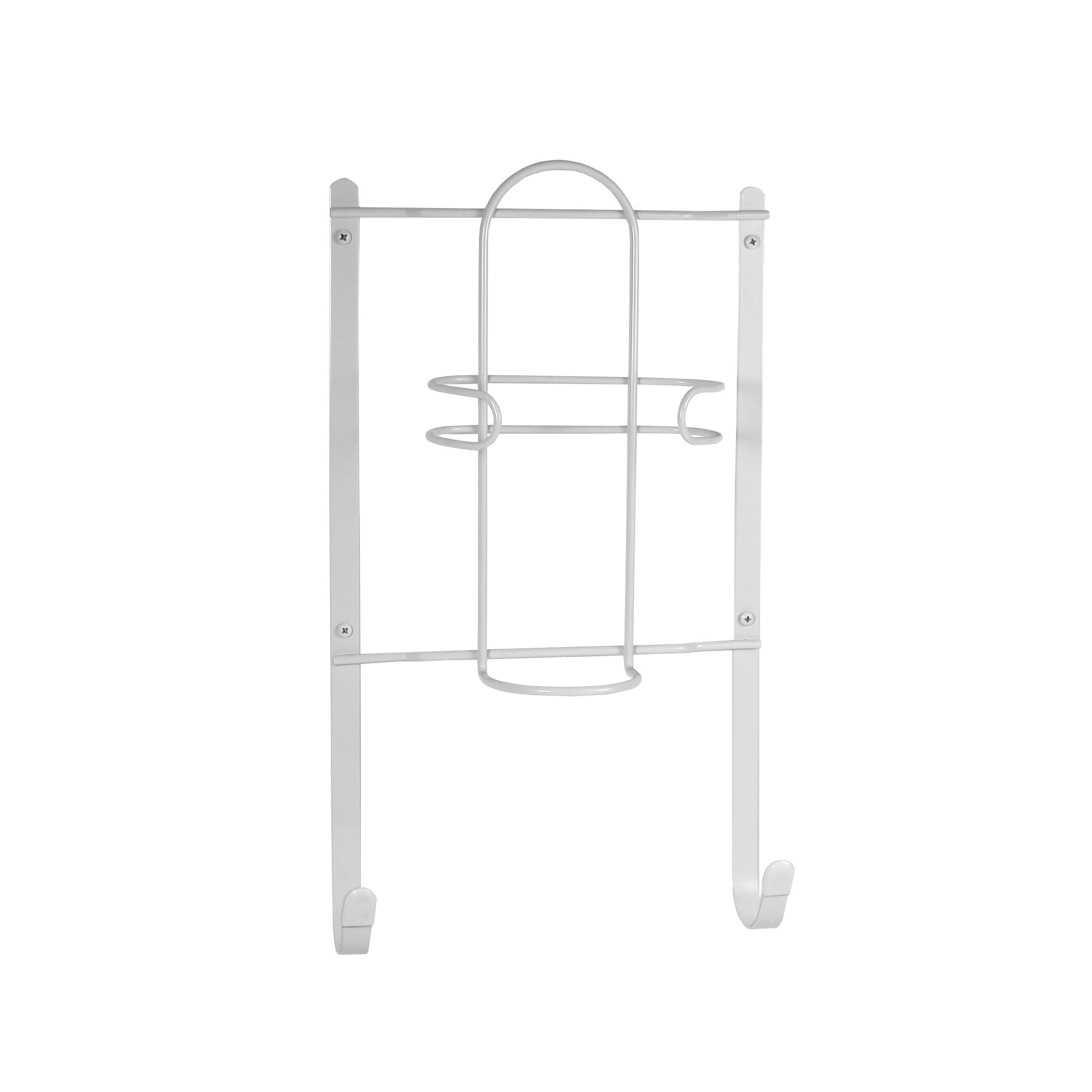 Spectrum Diversified Iron and Ironing Board Holder, Wall Mount, White