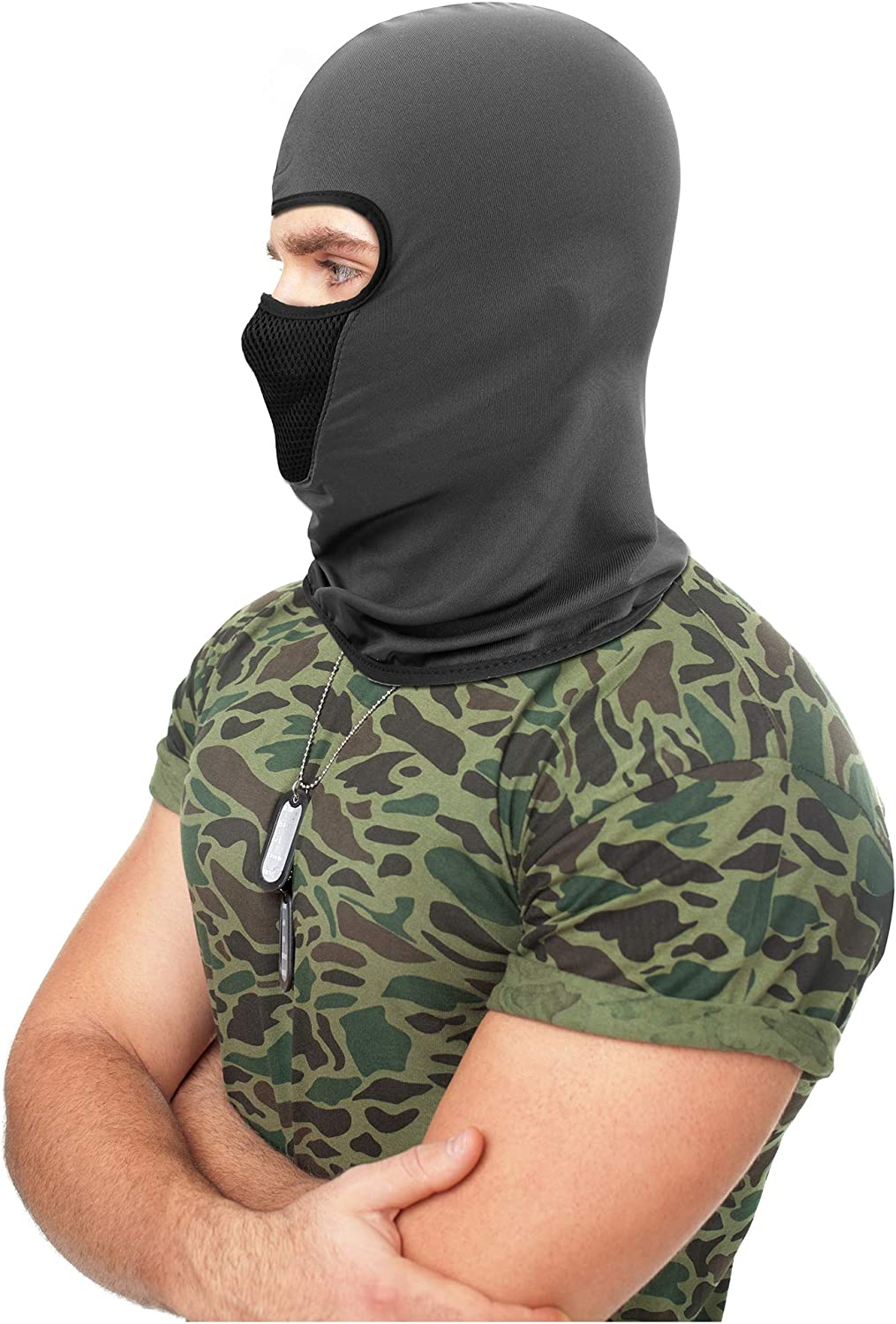 3 Pieces Balaclava Face Mask Motorcycle Mask Windproof Camouflage Fishing Cap Face Cover for Sun Dust Protection