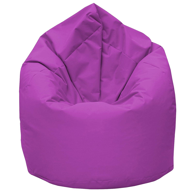 GiantBag Sitzsack Drope-Shape XL XXL XXXL Möbel Sessel Kissen In & Outdoor (XXXL, Pink)