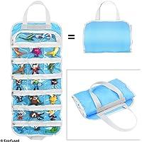 Pliez le sac de rangement organisateur de jouet pour filles - Idéal pour les jouets, accessoires et objets de collection, tels que : Barbie, Disney, LOL, Shopkins