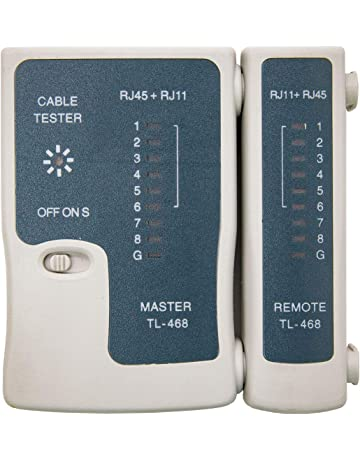 NANOCABLE 10.31.0301 - Tester automatico para cables RJ11/RJ12/RJ45