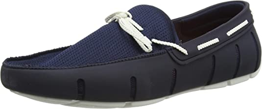 SWIMS Braided Lace Loafer, Mocasines para Hombre