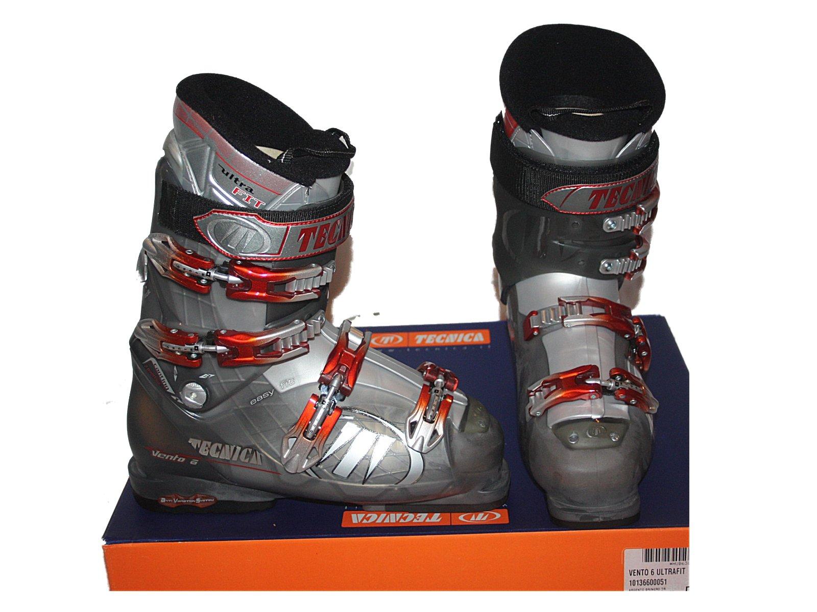 Tecnica men's Ski Boots Vento 6 ultrafit size mondo 27 , US 9 men NEW by Tecnica