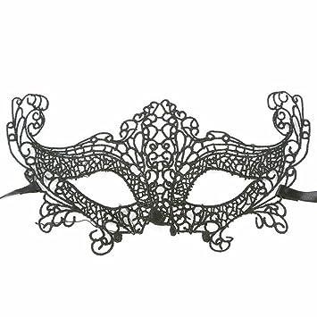 PromMask Mascara Facial Careta Protector de Cara dominó Frente Falso Halloween Disfraces Bailes Fiestas máscaras de