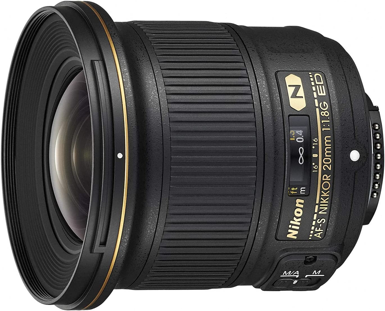 Nikon(ニコン)『単焦点レンズ AF-S NIKKOR 20mm f/1.8G ED AFS20 1.8G + アクセサリー2点(レンズフィルター、SDカード)』