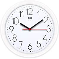 Hito 25cm Silent Non-ticking Wall Clock, New, .