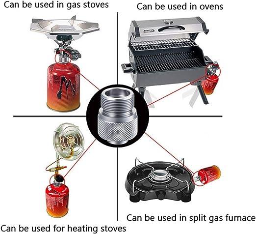 Estufa de Camping Gas de convertidor Cilindro de propano del ...