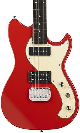 G y L Tribute Fallout Fullerton para guitarra eléctrica rojo