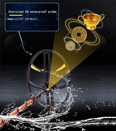 XIAODONGDONG Detector de Metales 950I, Gran Profundidad Tipo de ...