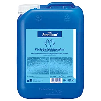 Bode Sterillium Hand Disinfectant Amazon Co Uk Health Personal