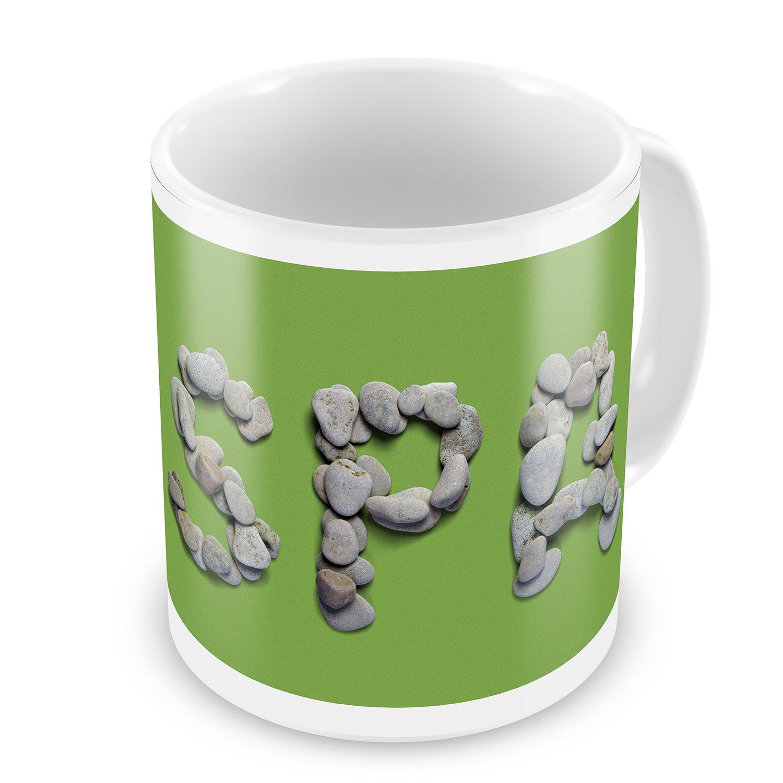 Coffee Mug Spa Spa Stones Rocks - NEONBLOND