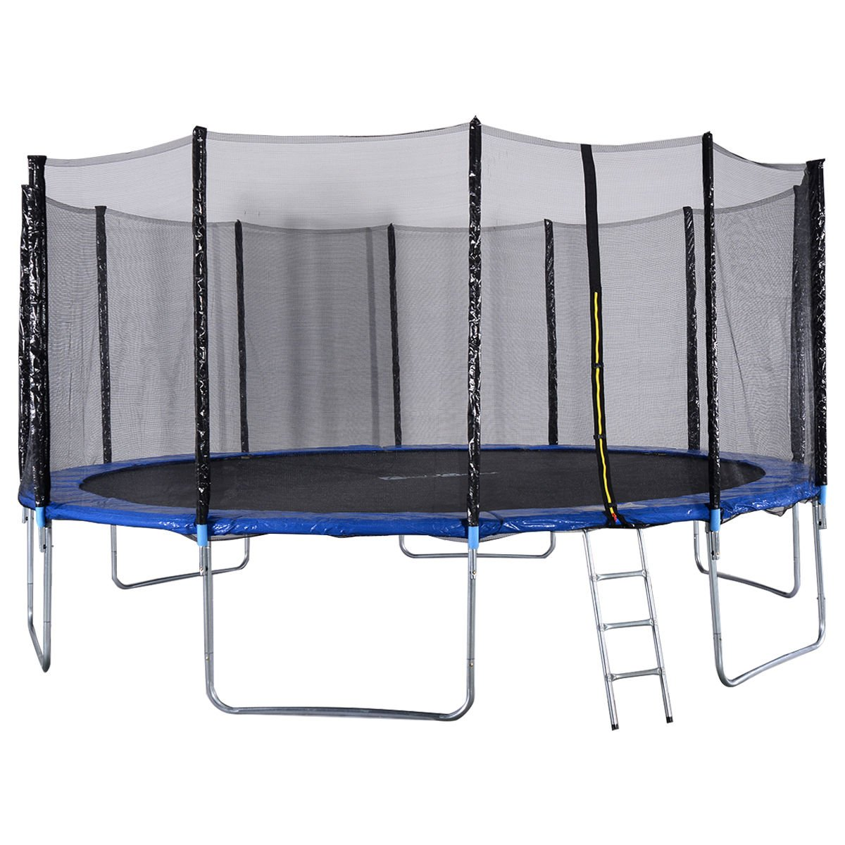 Giantex Trampoline Combo Bounce Jump Safety Enclosure Net W/Spring Pad Ladder, 16FT by Giantex