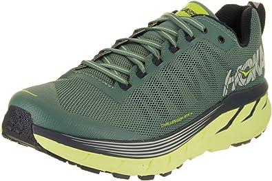 Hoka One - Zapatillas de Running para Hombre Verde Verde, Color Verde, Talla 44 EU: Amazon.es: Zapatos y complementos