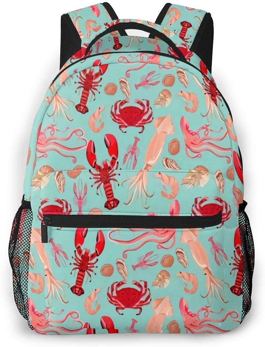 Laptop Backpack Casual Backpack Daypacks Computer Business Backpacks Travel Backpacks Bag Hiking Daypack College School Bookbag Work Bag Marine Life