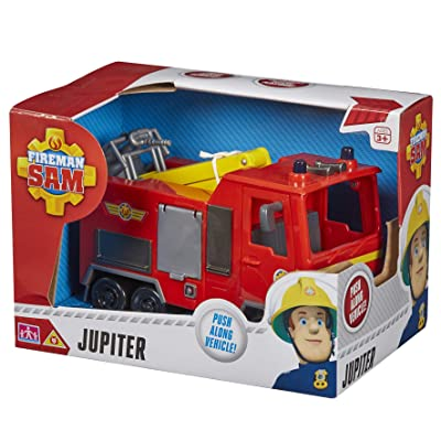 Character Options Fireman Sam Jupiter Vehicle: Toys & Games