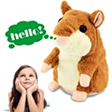 Talking Hamster Repeats What You Say, Tuko Electronic Pet Talking Plush Toy