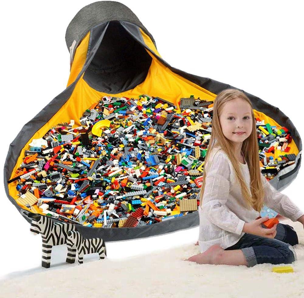 Hevdo Toy Storage Large Play Mat and Toy Storage Organizer Baskets Organizer Container Activity Storage Rug Organizer
