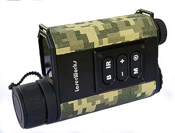 Infrarot Entfernungsmesser : Boblov schwarz camouflage laser ranging 4x digital vergrößerung