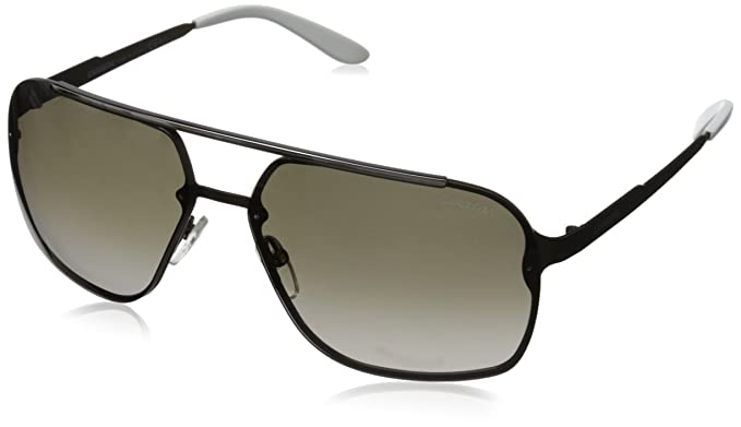 327ea3a51b Carrera CA91S Rectangular Sunglasses, Semi Metallic Brown, 64 mm ...