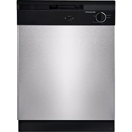 Review Frigidaire FBD2400KS Stainless Built-In Dishwasher,24-Inches