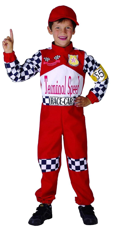 Costume pilota di corsa bambini 4 a 6 anni