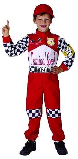 Disfraz de piloto de carreras para niño