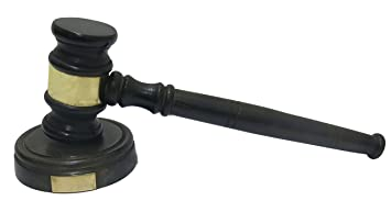 Ages Behind Wooden Gavel (Hammer) 10 Long