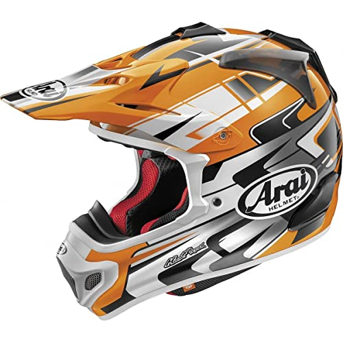 Arai VX-Pro 4 Spike Yellow Motocross Helmet