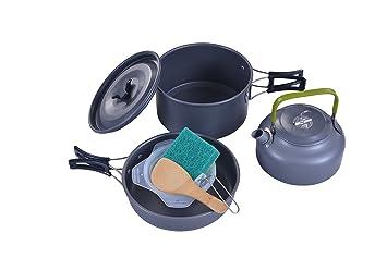 Outdoor Küche Wandern : Aotu outdoor camping wandern kochgeschirr rucksack küche picknick