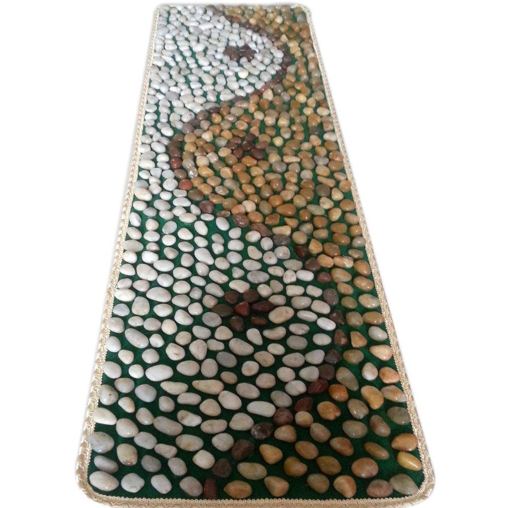 EliteShine Natural Pebbles Reflexology Massage Cushion Mat by EliteShine (Image #1)