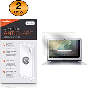 Acer Chromebook 15 (CB515) (15.6 in) Screen Protector, BoxWave [ClearTouch Anti-Glare (2-Pack)] Anti-Fingerprint Matte Film Skin for Acer Chromebook 15 (CB515) (15.6 in)