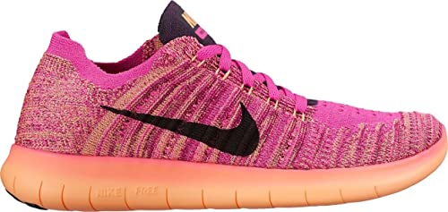 mientras tanto Escarchado Persona responsable  Amazon.com: Nike Kid's Free RN Flyknit (GS), FIRE Pink/Grand Purple, Youth  Size 7: Sports & Outdoors