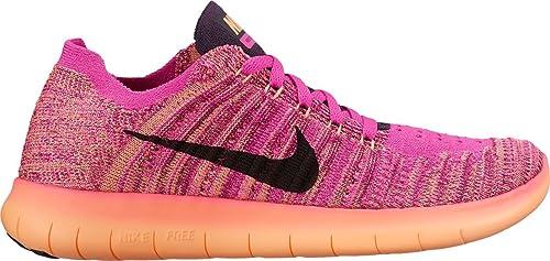 f21667402f84 Nike Kids Free RN Flyknit GS Running Shoes (3.5 (M) US Big Kid