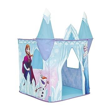 Tente de jeu pop-up château La Reine des Neiges Disney: Amazon.fr ...