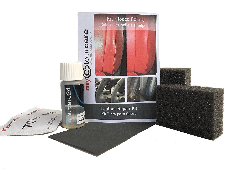 Kit rinnovo vernice volante ritocco colore per pelle e similpelle - Beige Savanna da 30 ml colourcare24