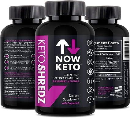 Amazon Com Keto Shredz Raspberry Ketones Supplement Capsules