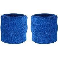 Muñequeras deportivas Suddora, algodón, 2 unidades