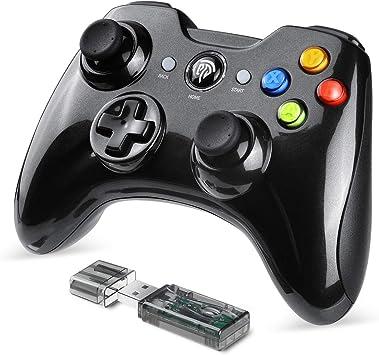 EasySMX Mando Inalámbrico, [Regalo] 2.4GHz Mandos PS3 con Batería Incorporada, Gaming Controller Gamepad Joystick con Doble Vibración para Windows/PS3/PC/Android/Tablet/Andriod TV Box/TV: Amazon.es: Electrónica