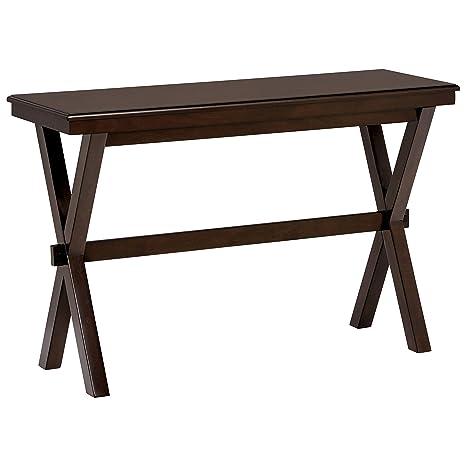 Amazon.com: Ravenna Home - Mesa de café de madera, Nuez ...