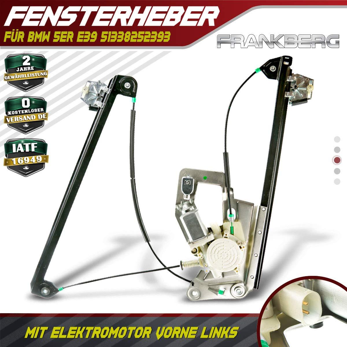 Fensterheber Mit Motor Vorne Links 5er E39 1995-2004 5133825239