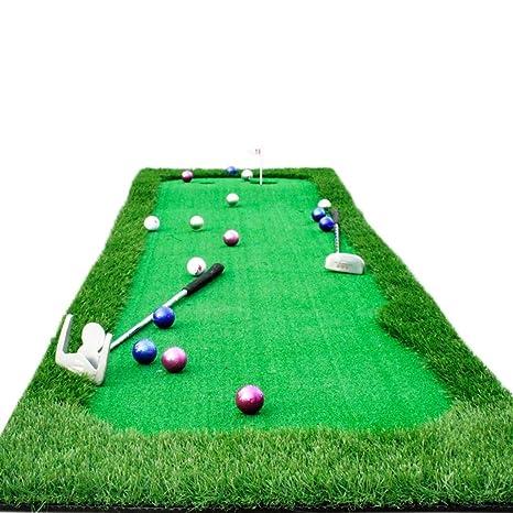 Sports Golf Tapis De Pratique De Golf Interieur Mini Golf Ensemble